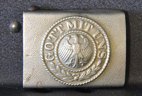 Click image for larger version.  Name:Reichswehr Buckle Obverse.jpg Views:58 Size:292.5 KB ID:637827