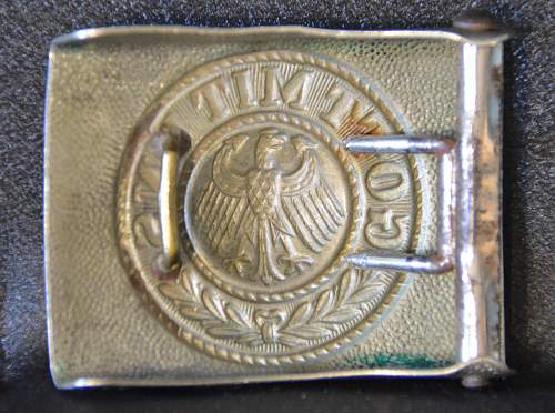 Click image for larger version.  Name:Reichswehr Buckle Reverse.jpg Views:33 Size:240.2 KB ID:637828