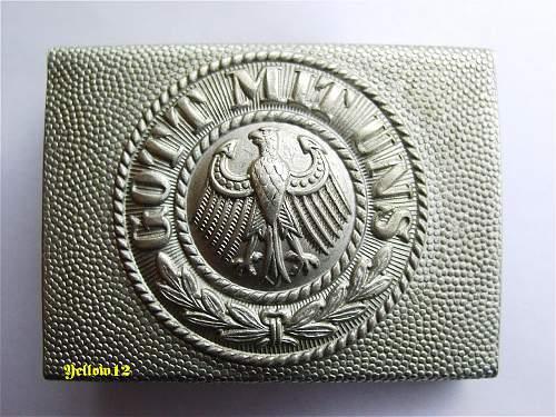 Reichswehr Buckles