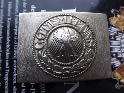 buckle Reichswehr