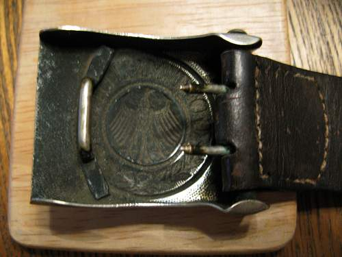 Weimar Buckle - 1929 Tagged