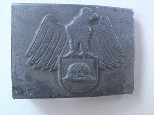 Stahlhelm Wehrsportabteilung Buckle