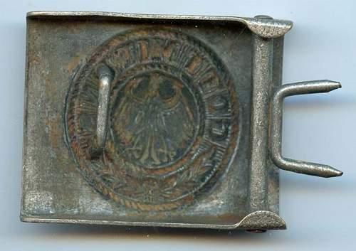 Fake Reichswehr buckles