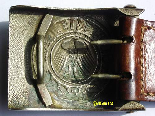 The Reichswehr with leather