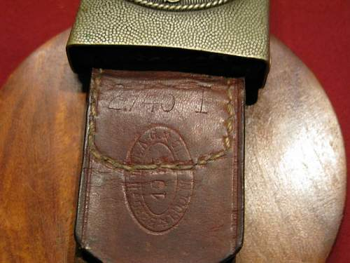 1935 - Berg & Nolte - Unit Marked