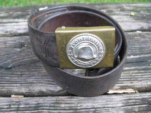 Frontheil w/Belt