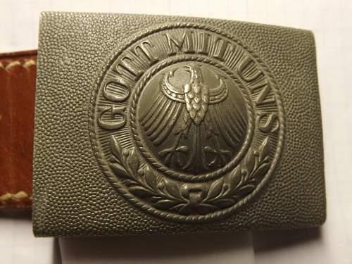 My new Reichswehr buckle