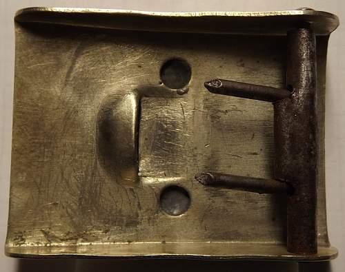 A rare Reichswehr buckle