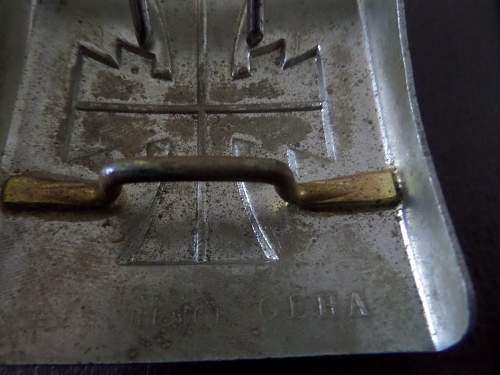 German Turnerschaft Belt buckle and other items