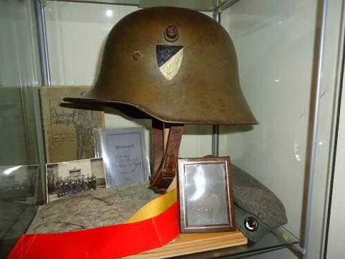 Reichswehr Headgear used in the Field