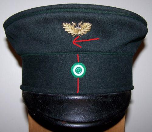 Forestry/Jaegerschaft Headgear