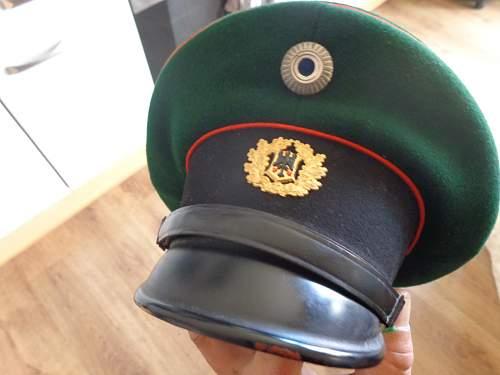 Zoll (Customs) Headgear