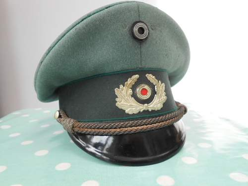 Reichswehr Administrative/Officials Cap circa 1933/34