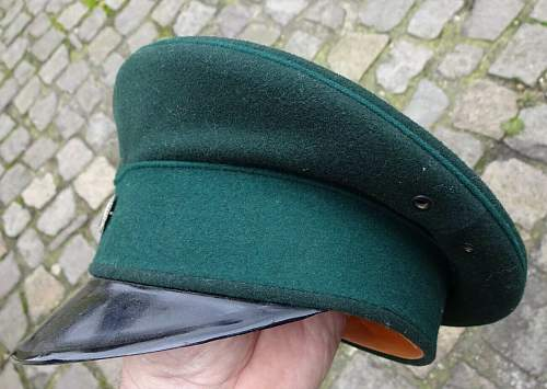 Police (Weimar & Transitional) Visors