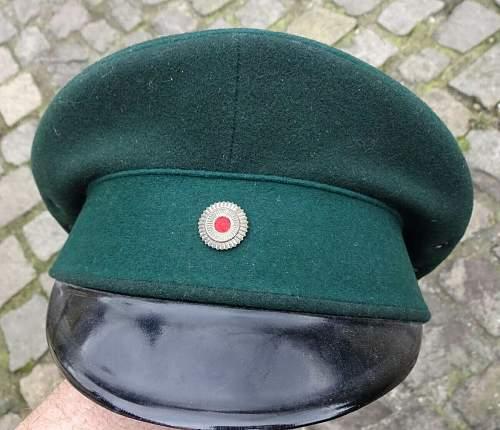 Police (Weimar & Transitional) Visors
