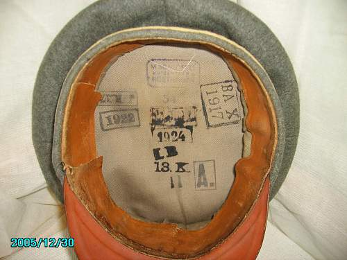 The evolution of the Army Service Cap 1900 to 1945l