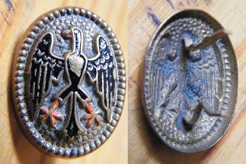 Reichswehr Officers cap......are there any more out there ?