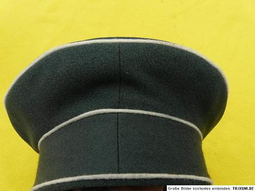 Reichswehr Infantry cap on e bay