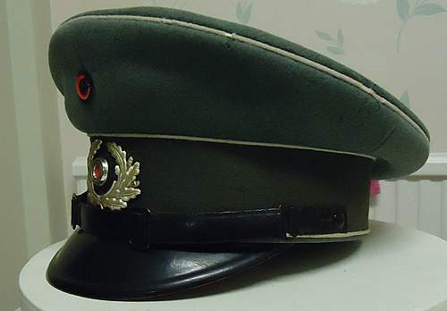 Cap Rescue: saving history.......Reichswehr cap circa 1933
