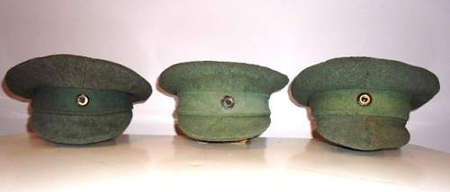 Homage to the 1919 pattern field cap....simple but nice