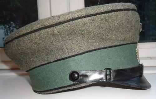 Cap Rescue: Reichswehr Pioneer M1920 Service cap