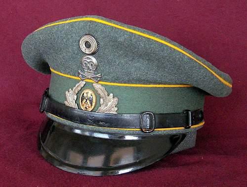 RW-Kavallerie Headgear