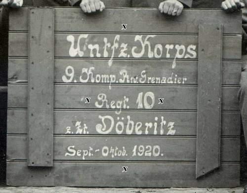 Reichswehr Caps 1919 -1934