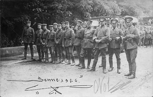 Click image for larger version.  Name:1926-Senne Gruppenbild Sennelager.jpg Views:351 Size:142.2 KB ID:675942