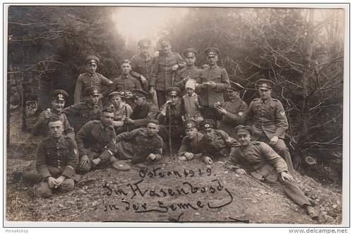 Click image for larger version.  Name:1929-Senne lager Ostern. Im Hasenbusch in der Senne..jpg Views:136 Size:90.3 KB ID:675945