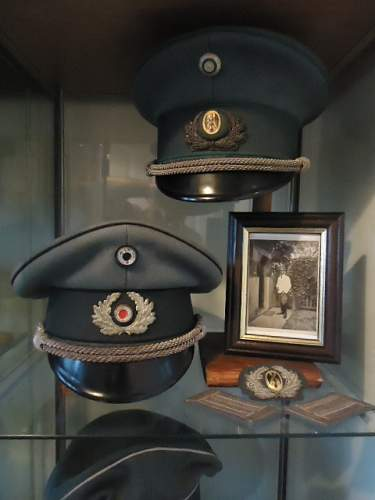 Examples of Officer Caps