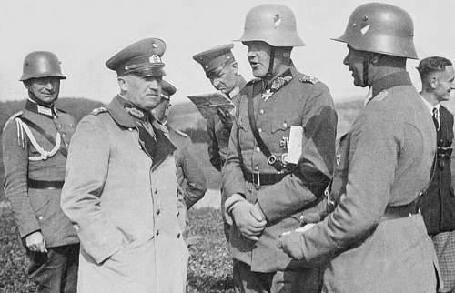 Click image for larger version.  Name:1932 - September - Feldmanöver der 1. Division in Ostpreussen. Reichswehrminister General v.jpg Views:1026 Size:131.9 KB ID:709519