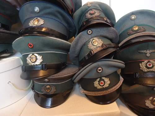 Caps in a Pile..................