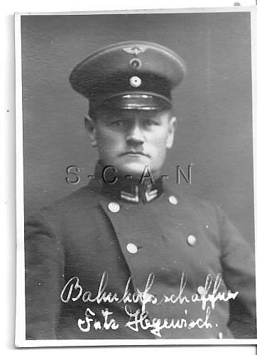 Reichsbahn Headgear