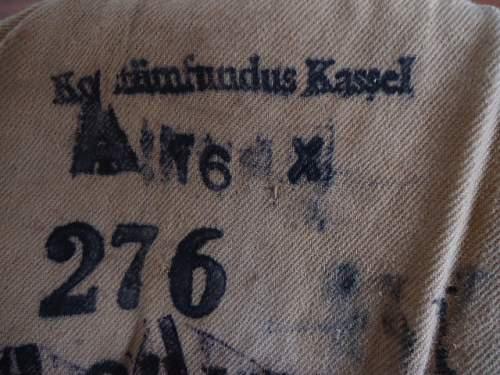 Cap Rescue: 1917 Pattern Einheitsfeldmütze  Issued to PB 2