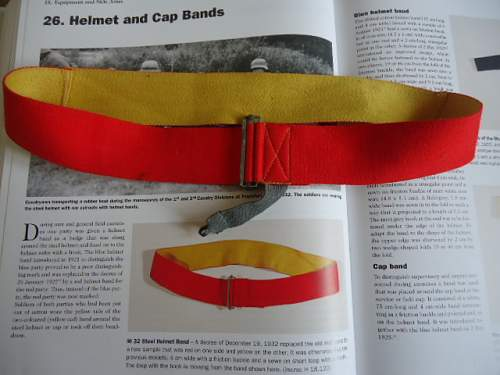 1932 Pattern Manoeuvre Band for the Steel Helmet