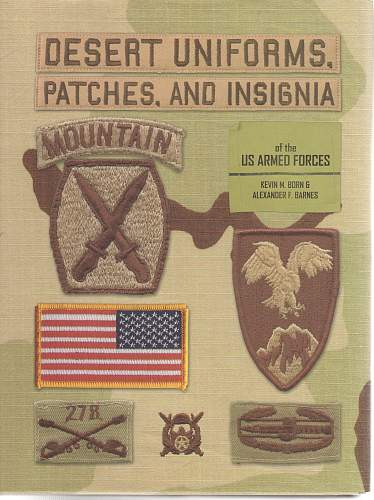 US Cloth Insignia Reference Section