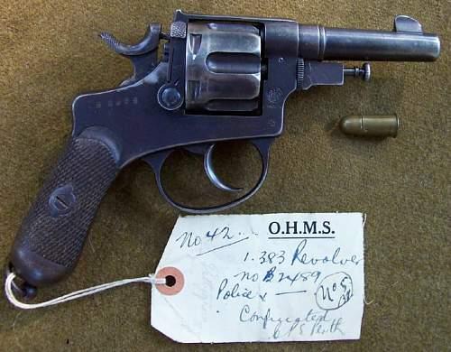 Italian 'BODEO' Revolver with a very unique history