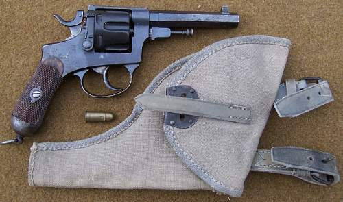 Italian Glisenti Revolver With a Tropical Holster