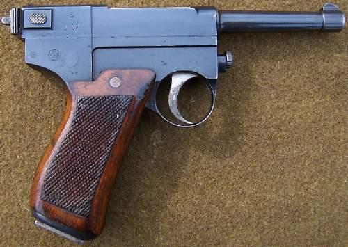 Model 1910 Italian Glisenti Semi-auto Pistols