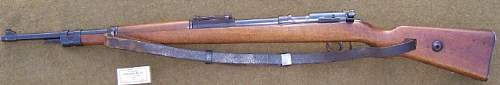 Gustloff KKW .22 cal. 'Police Contract' Rifle
