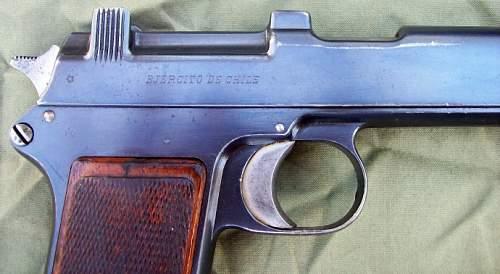 Chilean Contract Steyr Hahn Pistol