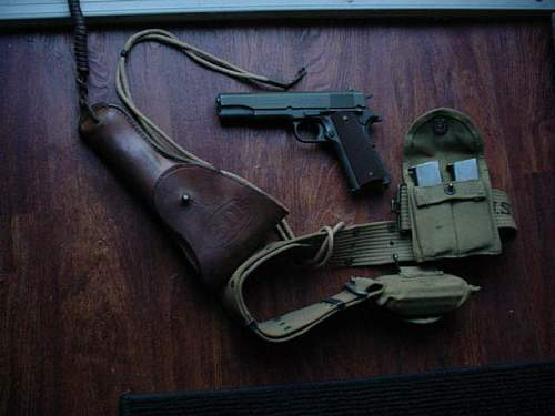 1911a1 Colt rig,vet officers pistol opinions welcome