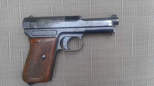 WW1 German Mauser Pocket Pistol ?