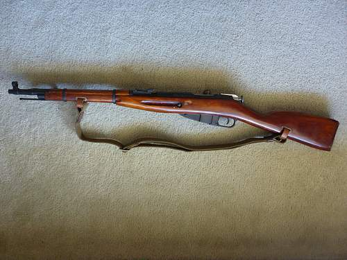 Mosin Nagant M44 Carbine for review