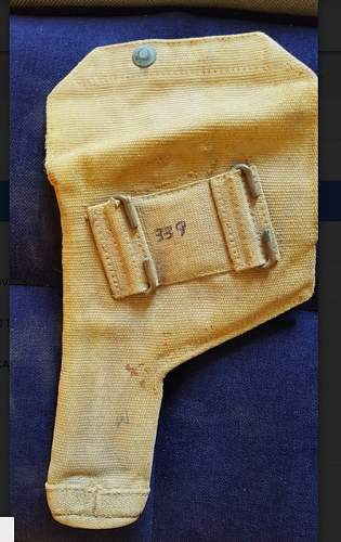 Unidentified holster