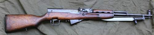 Early Production Chinese SKS 56 Rifle