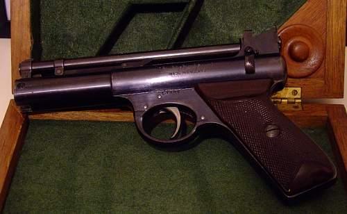Webley 'Senior' pistol