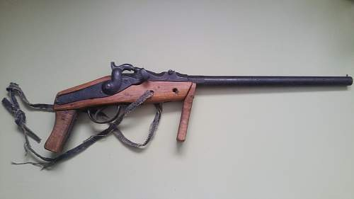 Belgian Resistance Breechloader sawn-off