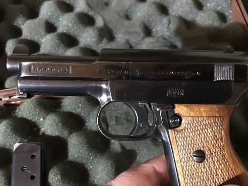 mauser 7.65 1914/34 w/ holster