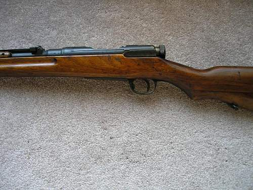 Japanese Type 38 Rifle